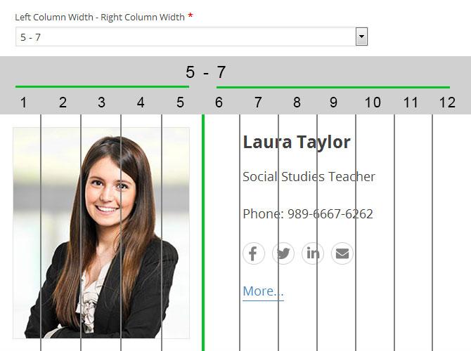 staff list wordpress plugin list layout
