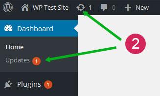 staff-list-pro-select-plugin-update-from-updates-menu