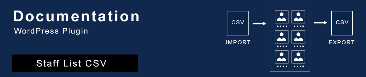 wordpress-plugin-staff-list-csv-documentation