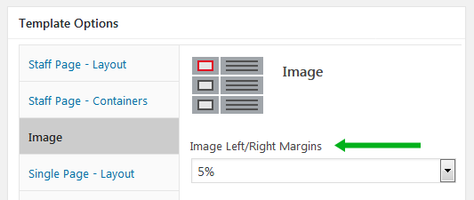 wordpress plugin staff list image container margins