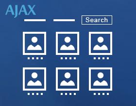 staff list multi filter ajax